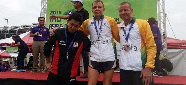 Gold Medals at Asian / Oceania 24 Hour Championships