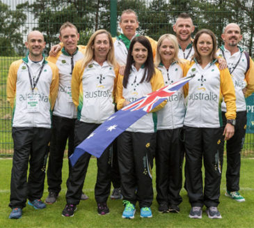 24 Hour Team at World Championships in Belfast