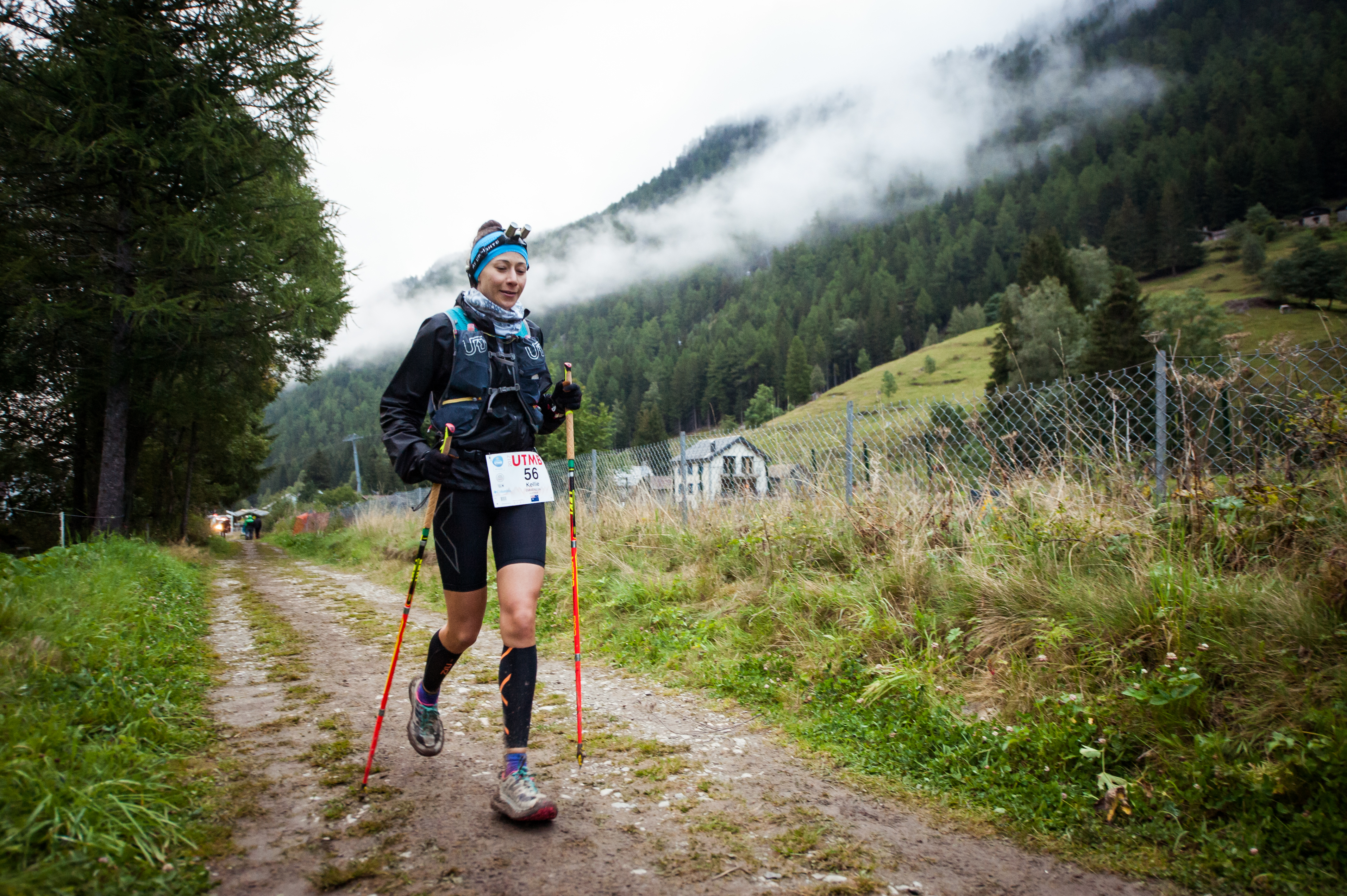 Emmerson's sprint to UTMB finish