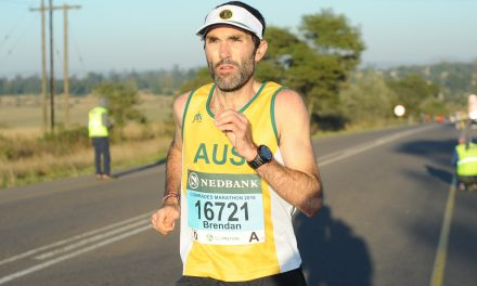 Get to know your 100k World team – Brendan Davies