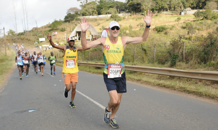 Sprint to the finish for Von Senden at Comrades
