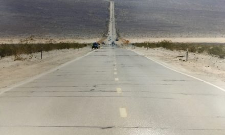 Hot, hot, hot…and a bit of rain at Badwater