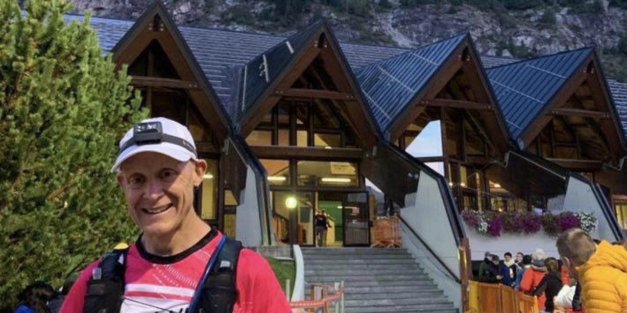 After five years, Redfern races his UTMB