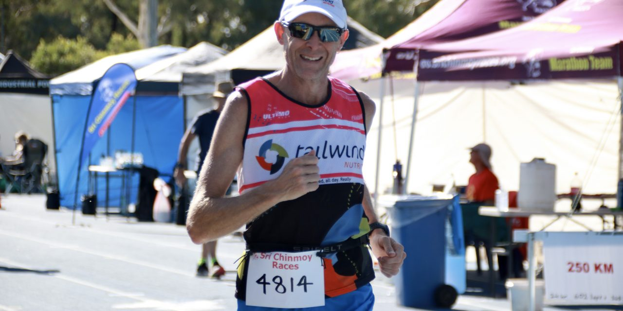 Redfern recaps the Sri Chinmoy 48hr